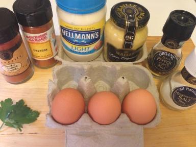Bedeviled Eggs Ingredients