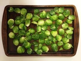 Brussel Sprouts Ready to Roast