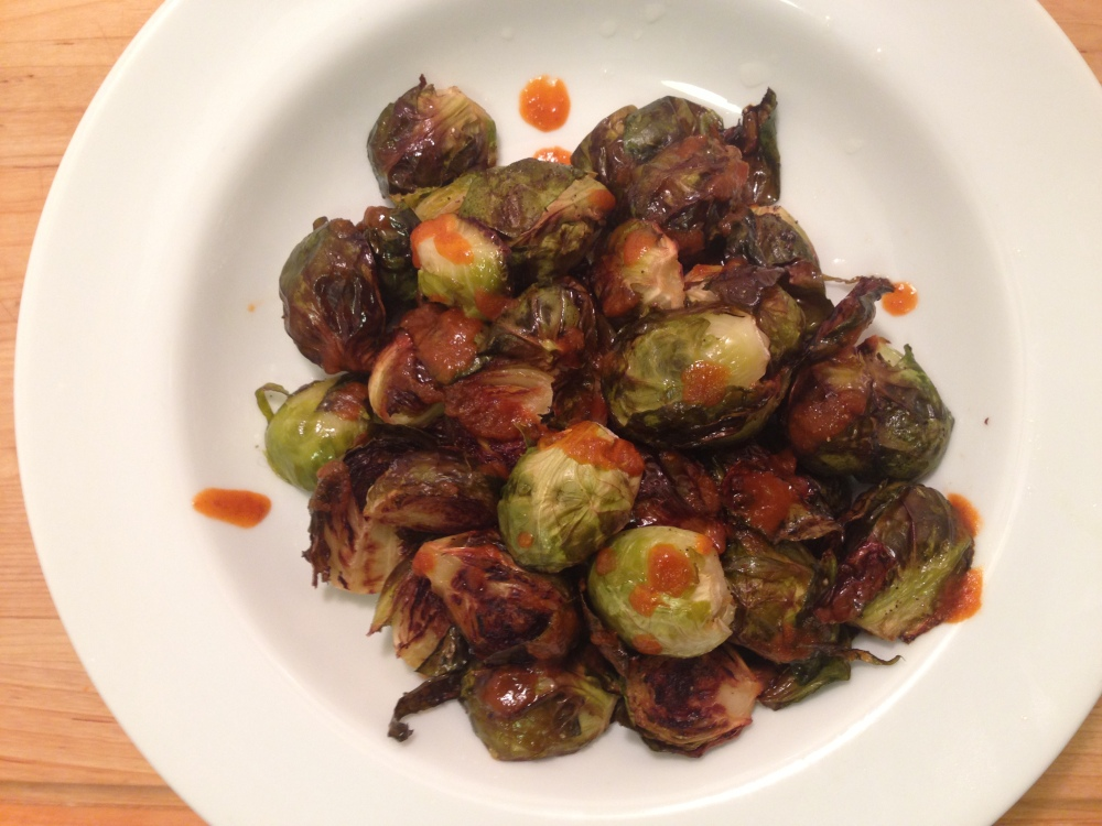Brussel Sprouts Up Close