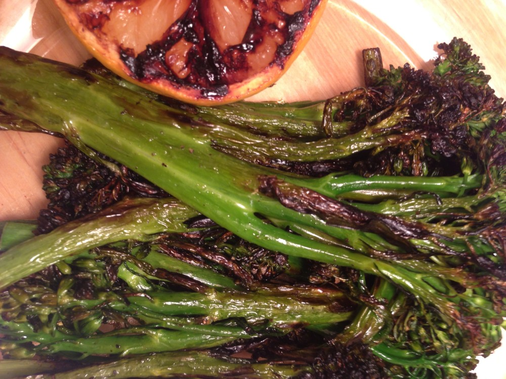 Charred Lemon Broccolini