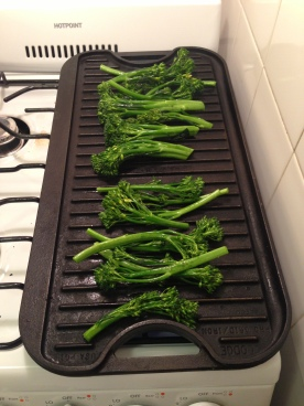 Charring the Broccolini