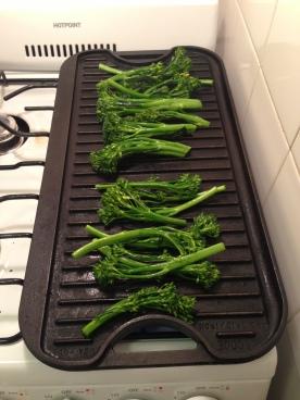 Charring the Broccolini