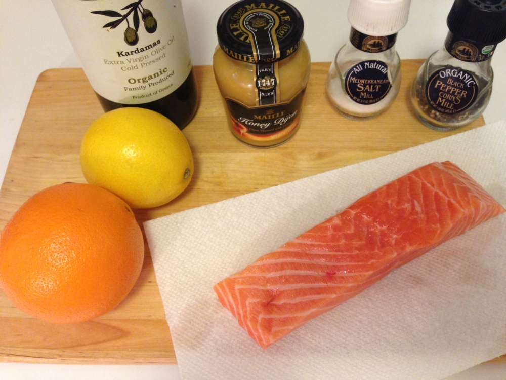 Honey Dijon Glazed Salmon Ingredients
