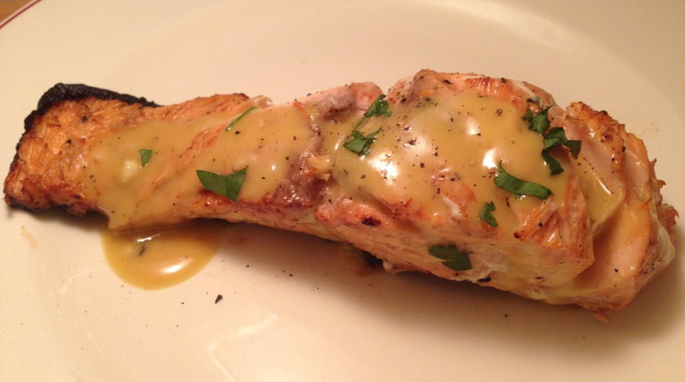 Honey Dijon Glazed Salmon