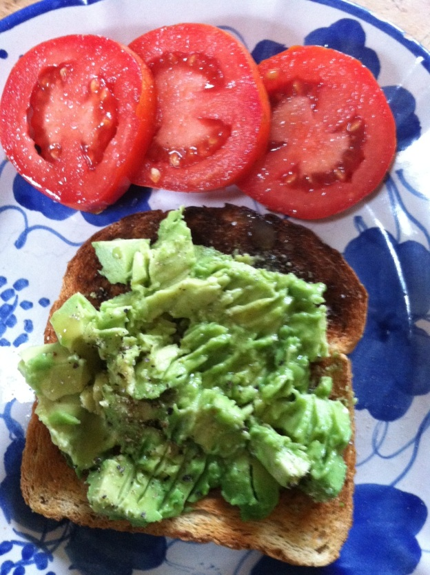 """Avocado Toast: """"I made this one morning in Maine -- so simple and fresh, yet so good! I was looking forward to seeing my lovely friend Becca later that day and thought I would make something from her blog. Although I have tried a few Fieldhouse Kitchen recipes, this was the first photo-worthy one! Next up, PBR Battered Baked Onion Rings!"""" -Katie R., Stratton, VT"""