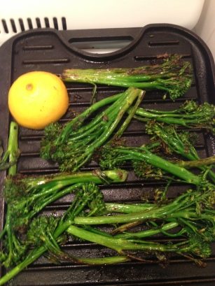 Lemon and Broccolini
