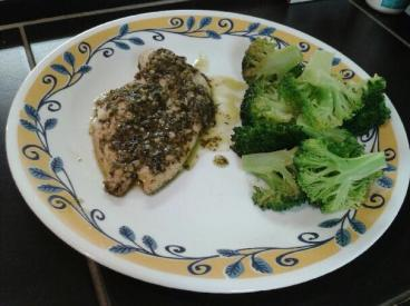 "Stuffed Pesto Chicken: ""Simple and delicious, I really loved the lemon pesto sauce!"" -Lindsay F., Toronto, Canada"