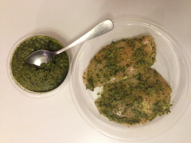 Pesto Chicken Marinade