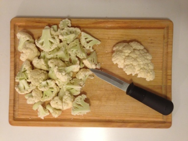 Roasted Cauliflower 1
