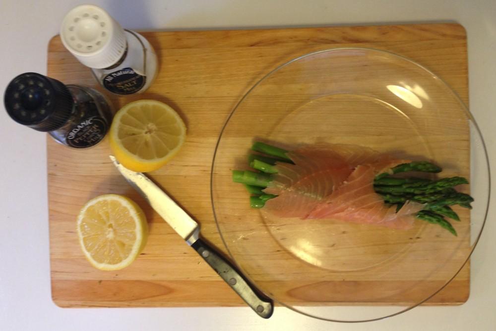 Salmon Prep