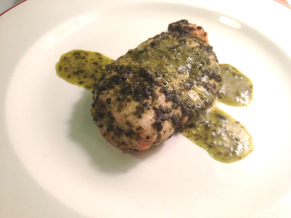 Stuffed Pesto Chicken 4