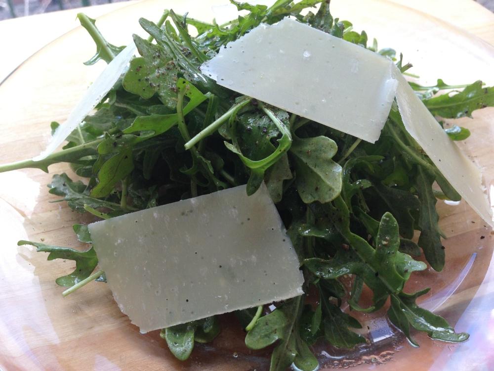 Arugula Salad Close Up