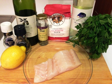 Cod Piccata Ingredients