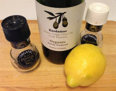 Lemon Vinaigrette Ingredients