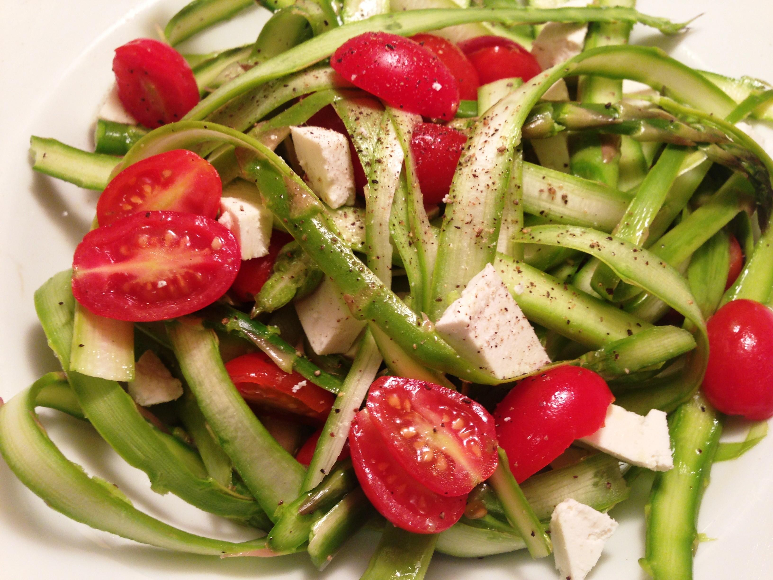 Shaved Asparagus Salad – Fieldhouse Kitchen
