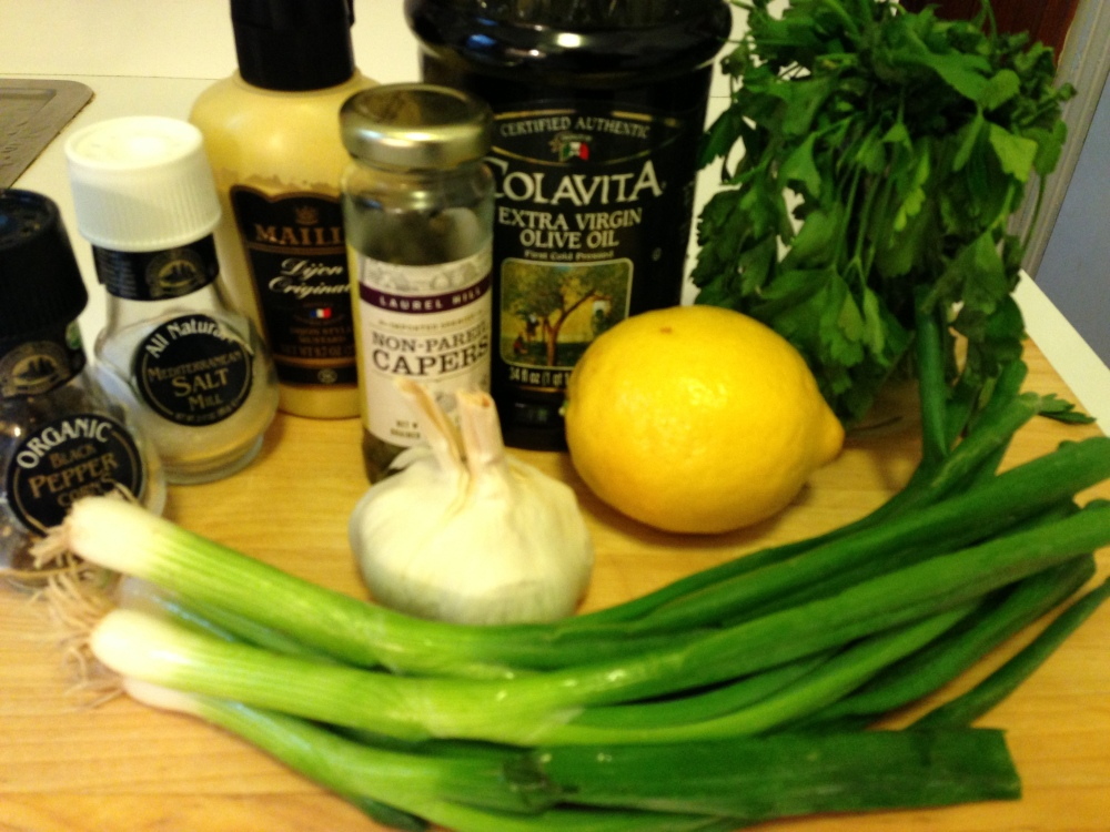 The Sauce Verts Ingredients