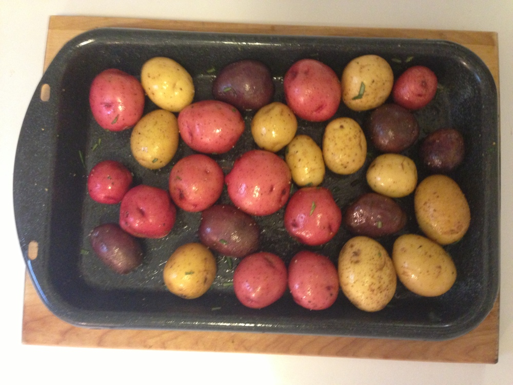 Prepped Potatoes