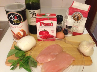 Chicken Parmesan Ingredients