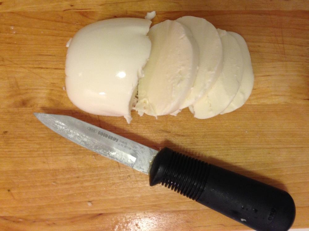 Slicing the Mozzarella