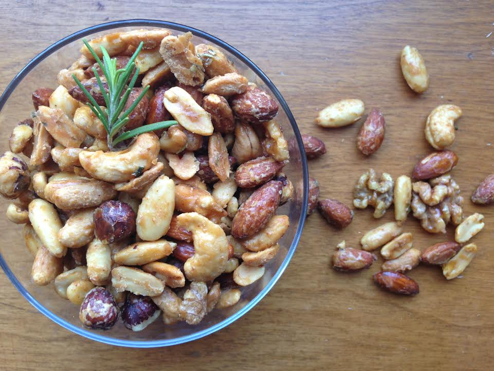 Maple Roasted Bar Nuts