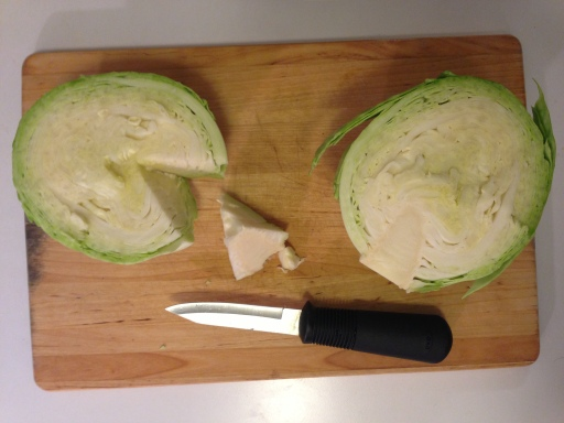 Slicing the Cabbage