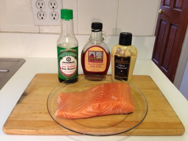 Maple Dijon Salmon Ingredients