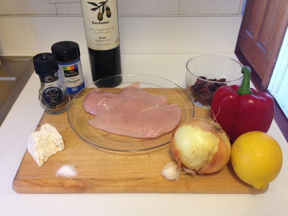 Mediterranean Chicken Ingredients