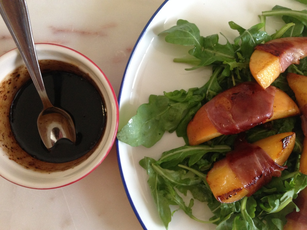 balsamic and honey glaze for the salad.JPG